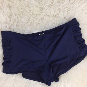 Tommy Bahama Ruched Boy-shorts Bikini Size Small